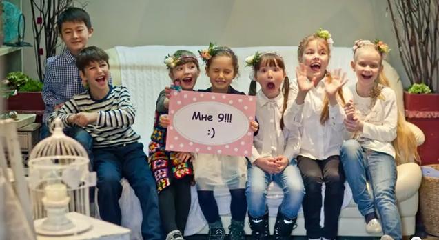 Видеосъёмка ролика о проведении детскского дня рождения в студии Букетио